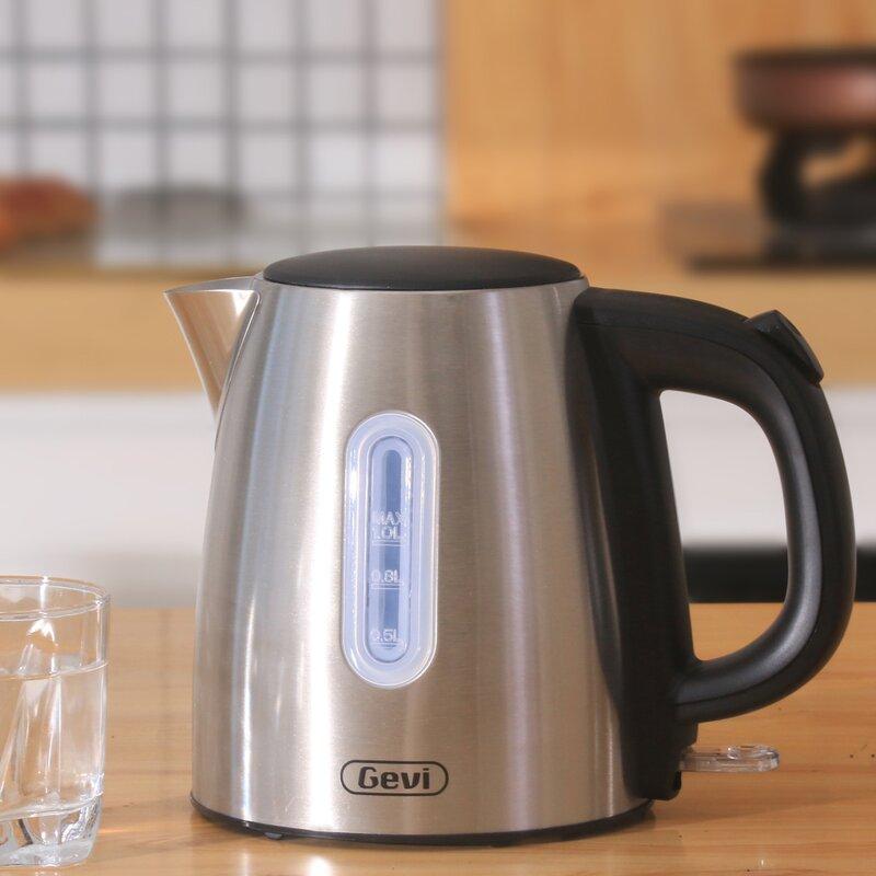 GEVI Gevi 1.1 qt. Rapid Boil Stainless Steel Electric Tea Kettle