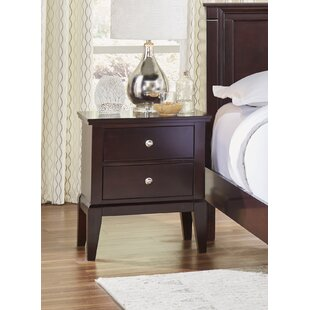 Odachowski 2 Drawer Nightstand