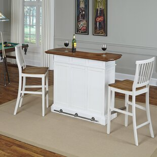 Benally Home Bar Set by Three Posts