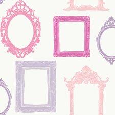 "Peek-A-Boo 33' x 20.5"" Picture Gallery Wallpaper"