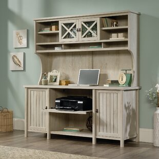 Laurel Foundry Modern Farmhouse Shelby Campbell Credenza Desk with Hutch