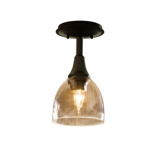 Hubbardton Forge Trellis 1-Light Semi Flush Mount