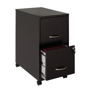 2 Drawer Soho Mobile Pedestal File