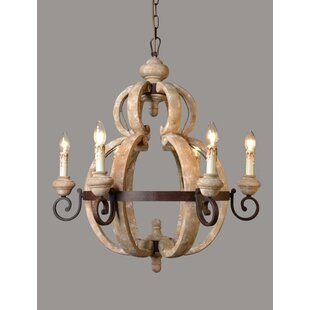 Odum 6-Light Chandelier by Ophelia & Co.
