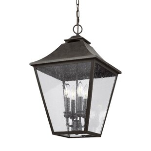 Stults 4-Light Outdoor Hanging Lantern