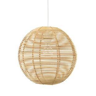 Niamh Continuous Weave Wicker Ball Globe Pendant