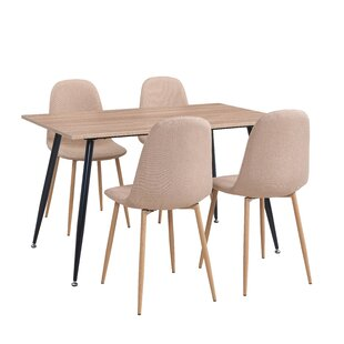 Lavenia Indoor 5 Piece Dining Set Zipcode Design