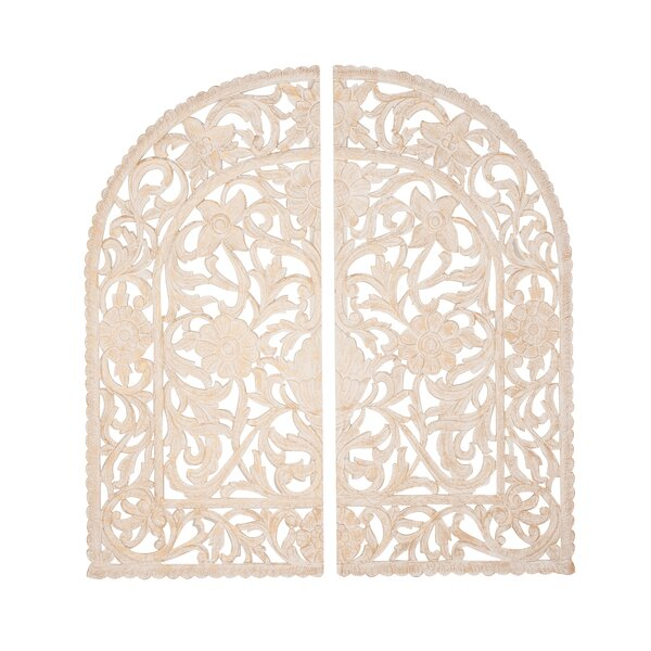 Wooden Arched Wall Decor | Wayfair