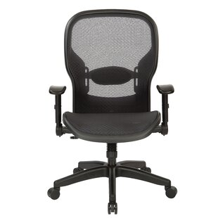 Space Seating Ergonomic Mesh Task Chair by Office Star Products Discount