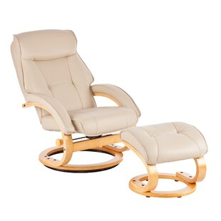 Manual Swivel Glider Recliner with Ottoman by Wildon Home ®