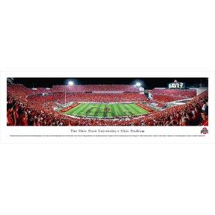 NCAA Ohio State University - Football - Script Photographic Print