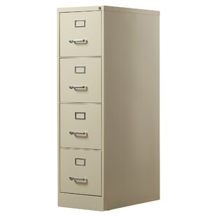 Brayden Studio Kane 4 Drawer Commercial Letter Size File Cabinet