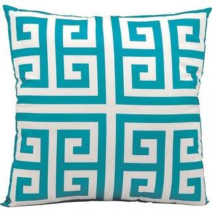 Modern Contemporary Turquoise Outdoor Pillow Allmodern