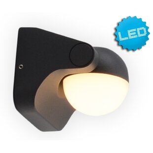 LED Outdoor Flush Mount By Symple Stuff