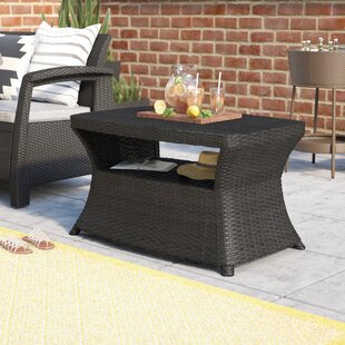 Armenta Wicker Side Table