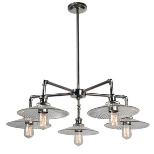 Trent Austin Design Dobson 5-Light Shaded Chandelier
