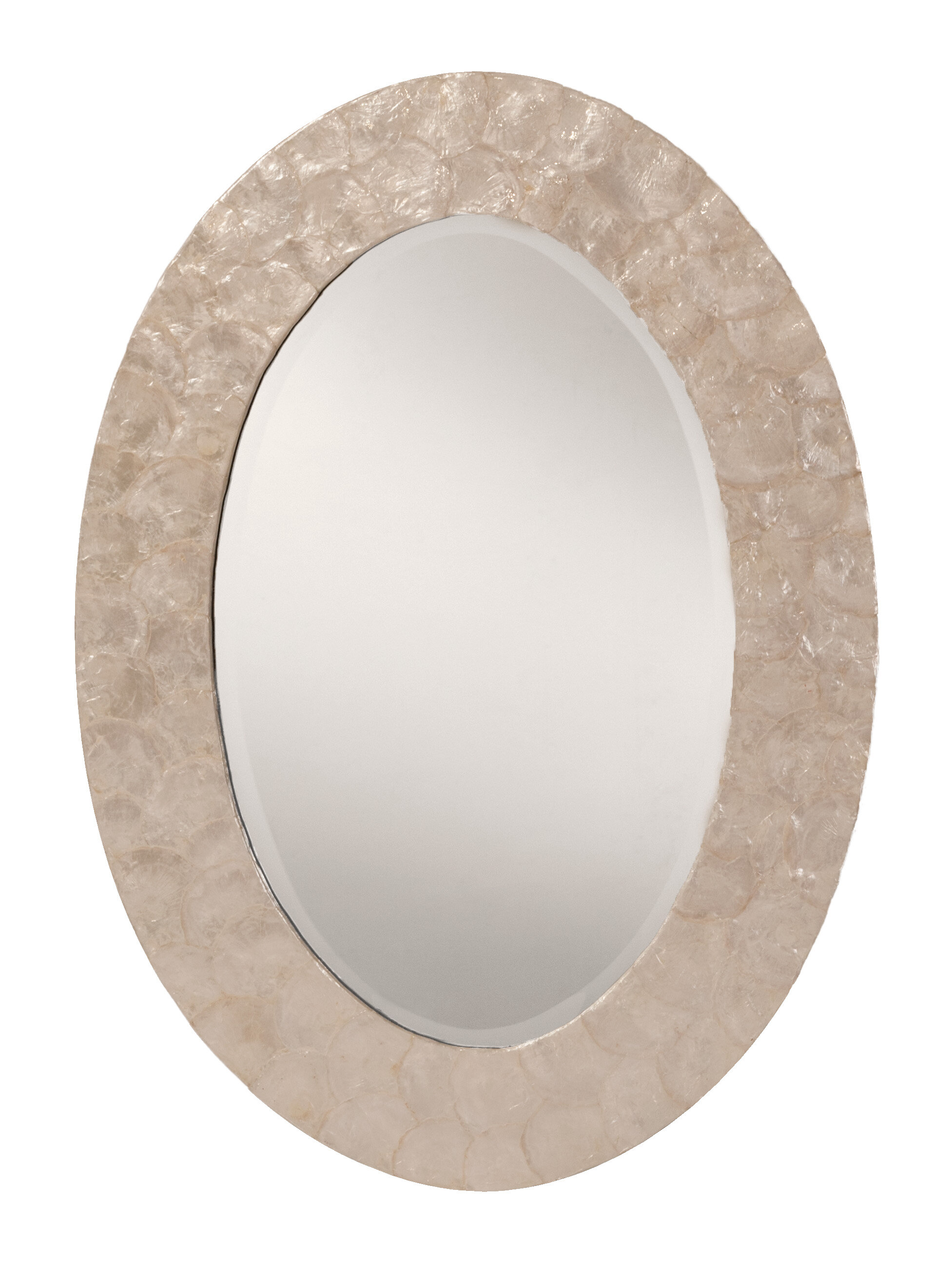 Rio Decorative Modern Contemporary Beveled Accent Wall Mirror