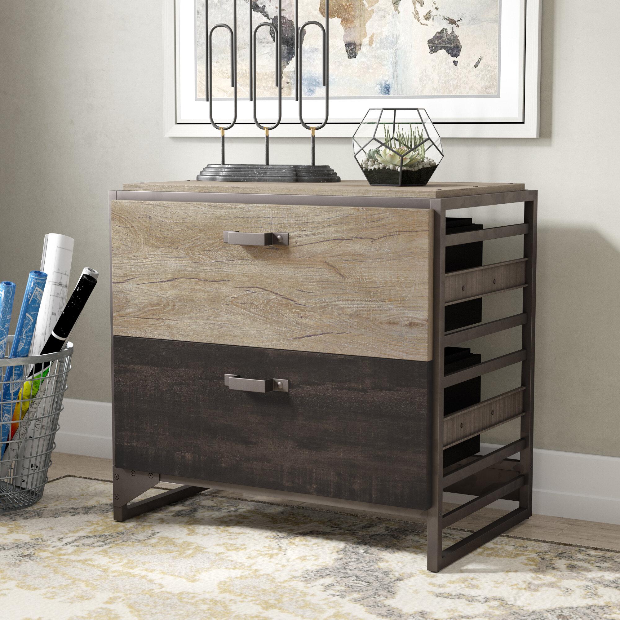 Williston Forge Riverside 2 Drawer Lateral Filing Cabinet U0026 Reviews |  Wayfair
