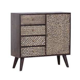 Chamisa 3 Drawer Combi Chest By Bloomsbury Market