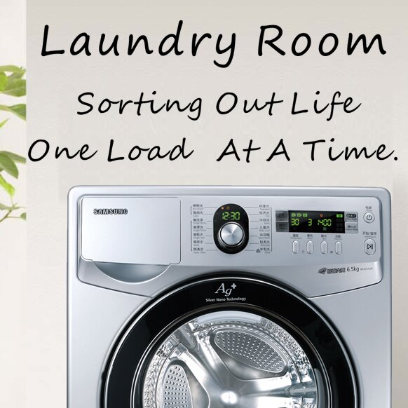 Laundry Room Wall Decal Part 78