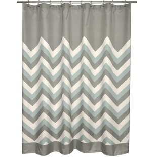 Chevron Single Shower Curtain