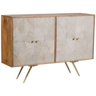 Gonzalo 4 Door Accent Cabinet by Corrigan Studio