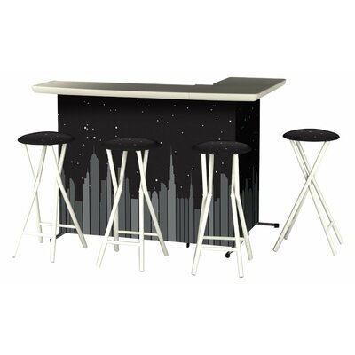 Patio 8 Piece Bar Set by Best of Times Modern