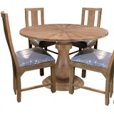 Willingham 5 - Piece Mango Solid Wood Dining Set by Foundry Select