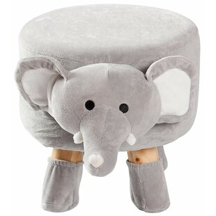 Warba Padded Footrest for Children and Nursery Décor Ottoman by Zoomie Kids