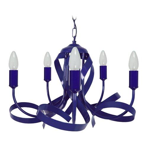 Kronleuchter 5-flammig Othello ModernMoments Ausführung: Rot | Lampen > Deckenleuchten > Kronleuchter | ModernMoments