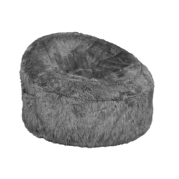 Incredible Papasan Fur Medium Bean Bag Chair Evergreenethics Interior Chair Design Evergreenethicsorg