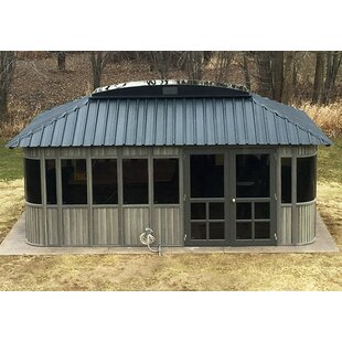 Westview Manufacturing Colorado 20 Ft. W x 12 Ft. D Manufactured Wood Patio Gazebo