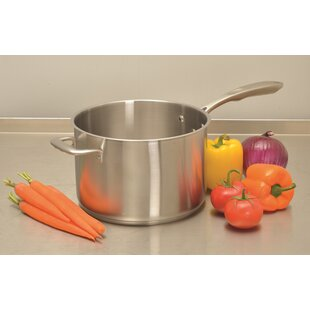 Stainless Steel Sauce Pan with Lid