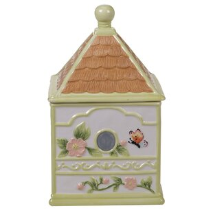 Rosemount 3-D Bird House 3 qt. Cookie Jar