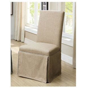 Cohen Upholstered Side Chair Rosecliff Heights