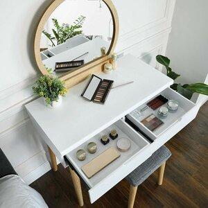 Ladder Desk Makeup Vanity