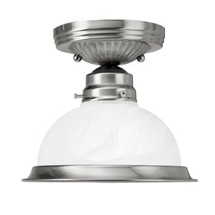 Compare & Buy Ariah 6.25 1-Light Semi Flush Mount By Breakwater Bay