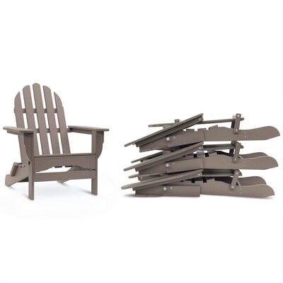 Astonishing Paterson Plastic Folding Adirondack Chair August Grove Caraccident5 Cool Chair Designs And Ideas Caraccident5Info