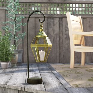 Buy clear Modern Iron Lantern By Darby Home Co