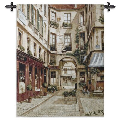 Promenade a Paris I Tapestry Fine Art Tapestries
