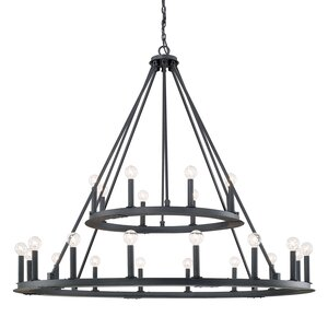 Shayla 24-Light Candle-Style Chandelier