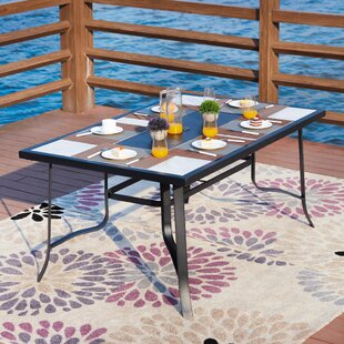 Check Prices Roye Outdoor Dining Table Price & Reviews