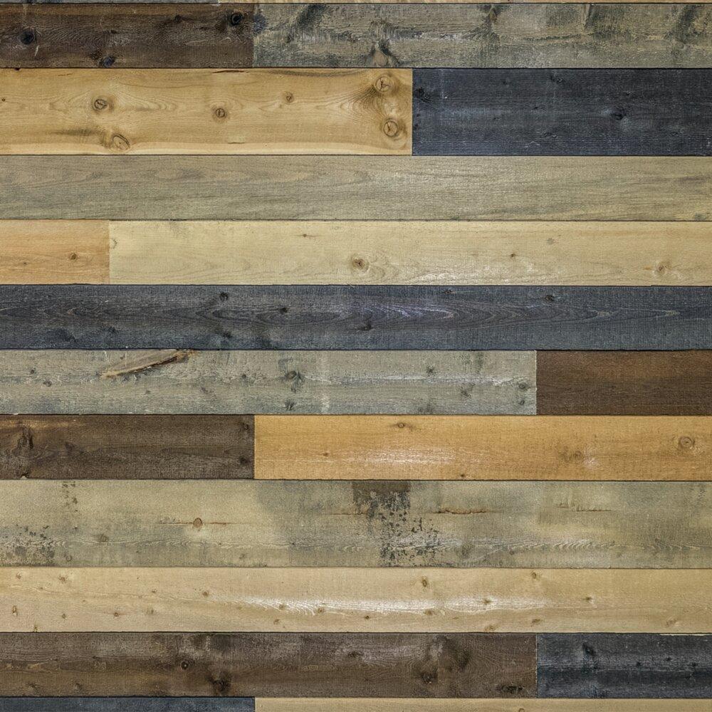 Coeur D Alene Wood 5 4 W X 48 L Solid Wood Wall Paneling Reviews Wayfair