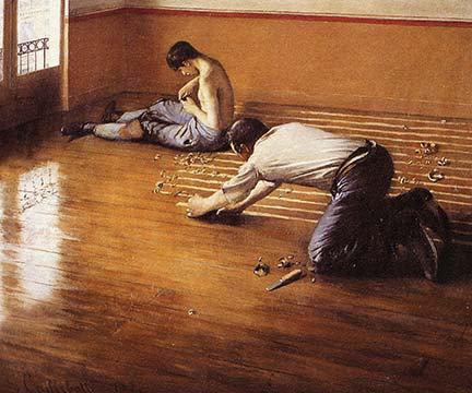 Buyenlarge « the floor scrapers » par gustave caillebotte, reproduction  d'art | Wayfair.ca
