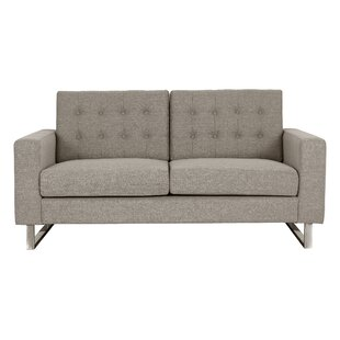 Luff 63 Square Arms Loveseat