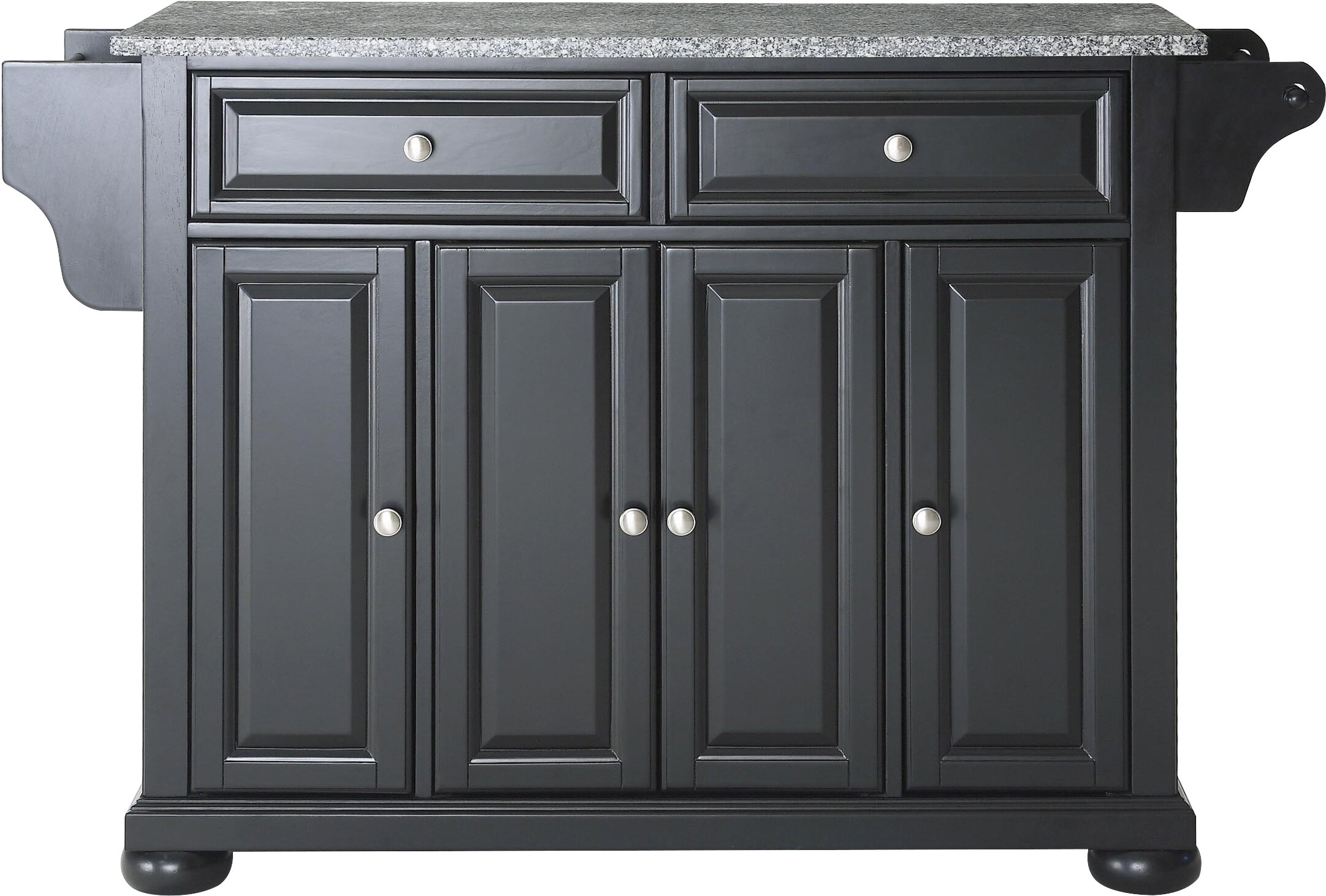 Hedon Kitchen Cart With Granite Top