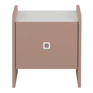 Harwood Bedside Table By Mercury Row