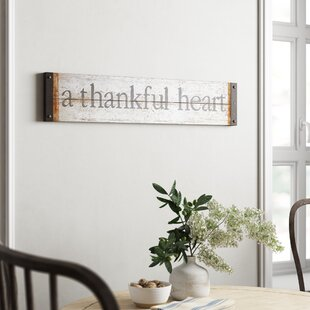 Wooden Gather Signs