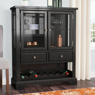 Darby Home Co Napoleon Wine 8 Bottle Wine Bar