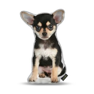 Manzella Chihuahua Throw Pillow